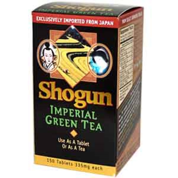Green Foods, Shogun, Imperial Green Tea, 335 mg, 150 Tablets (Discontinued Item)