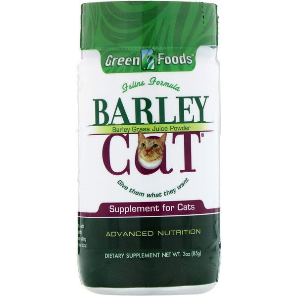 Green Foods Corporation, Barley Cat, 3 oz (85 g)