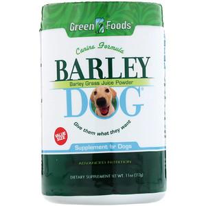 Грин Фудс Корпорэйшн, Barley Dog, 11 oz (312 g) отзывы покупателей