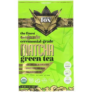 Green Foods Corporation, Folded Fox, Organic Matcha Green Tea, 1.1 oz (30 g)