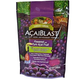 Garden Greens, AcaiBlast, Acai Soft Chew Antioxidant Formula, 30 Soft Chews