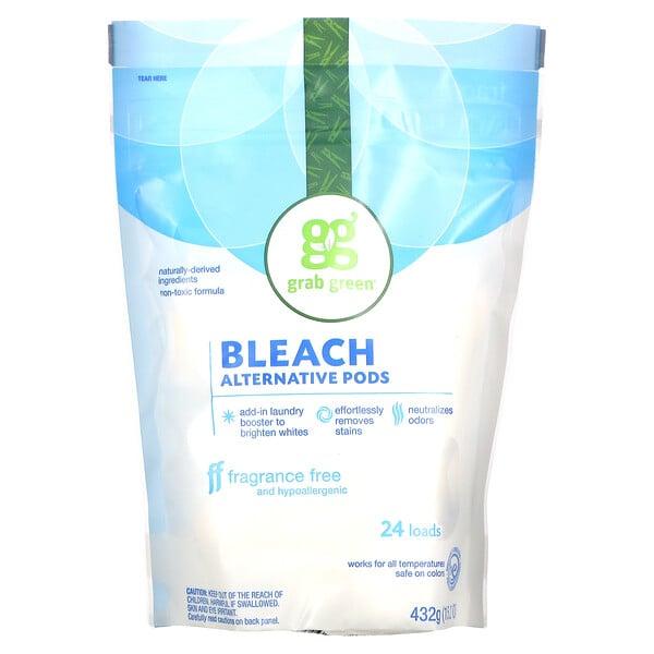 Bleach Alternative Pods, Fragrance Free, 24 Loads, 15.2 oz (432 g)