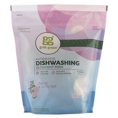 Моющее средство для посудомоечных машин, Тимьян и лист инжира, 2 фунта, 4 унции (1080 г)