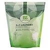 GrabGreen, 3-in-1 Laundry Detergent Pods, Vetiver, 60 Loads,2lbs, 6oz (1,080 g)