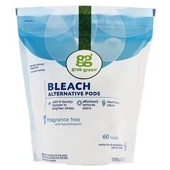 Grab Green, 漂白劑替代品,無香型,可洗60次,2磅4盎司(1080克)