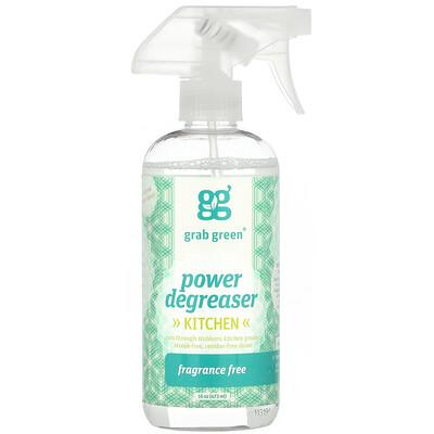 Купить Grab Green Power Degreaser, Kitchen, Unscented, 16 oz (473 ml)