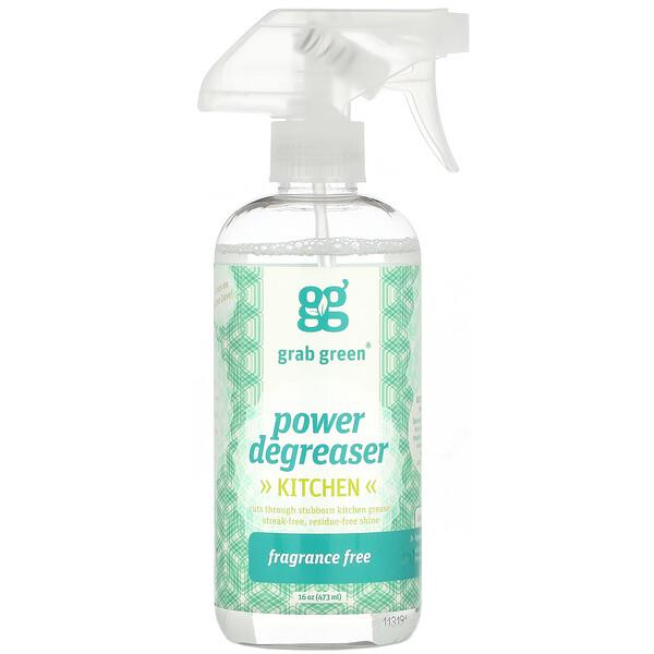 Kitchen Power Degreaser, Unscented, 16 oz (473 ml)