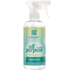 ГрэбГрин, All Purpose Cleaner, Fragrance Free, 16 oz (473 ml) отзывы покупателей
