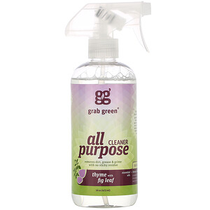 ГрэбГрин, All Purpose Cleaner, Thyme with Fig Leaf, 16 oz (473 ml) отзывы покупателей