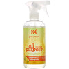 Grab Green, All Purpose Cleaner, Tangerine with Lemongrass, 16 oz (473 ml)