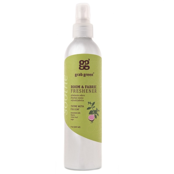 Grab Green, Room & Fabric Freshener, Thyme with Fig Leaf, 7 oz (207 ml) (Discontinued Item)