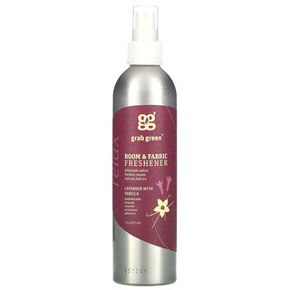 Grab Green, Room & Fabric Freshener, Lavender with Vanilla, 7 oz (207 ml)