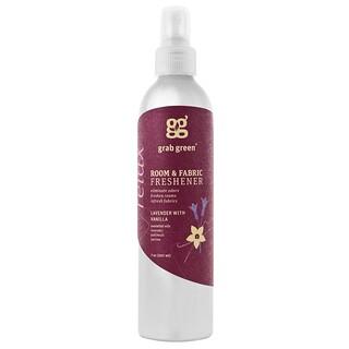 GrabGreen, Désodorisant de salles et de tissus, lavande, 20 ml (7 oz)
