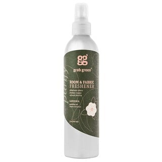 GrabGreen, Room & Fabric Freshener, Gardenia, 7 oz (207 ml)