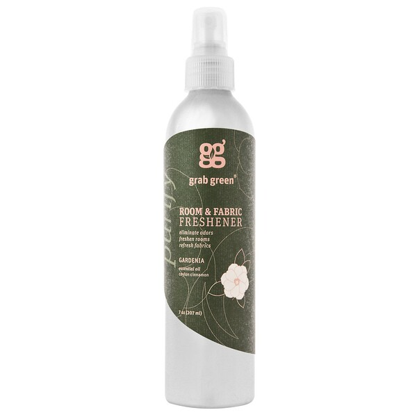 Grab Green, Room & Fabric Freshener, Gardenia, 7 oz (207 ml)