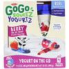 GoGo SqueeZ, YogurtZ、ベリー、4ポーチ、各3オンス (85 g)