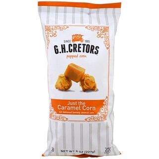 G.H. Cretors, Popped Corn, Just the Caramel Corn, 8 oz (227 g)