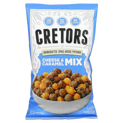 G.H. Cretors Handcrafted Small-Batch Popcorn, Cheese & Caramel Mix, 7.5 oz (213 g)