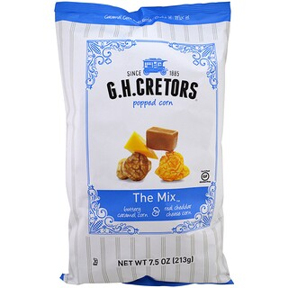 G.H. Cretors, Popped Corn, The Mix, 7.5 oz (213 g)