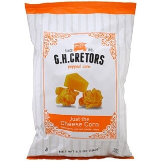 G.H. Cretors, Popped Corn, Just the Cheese Corn, 6.5 oz (184 g)