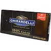 Ghirardelli, Premium Baking Bar, 100% Cacao, Unsweetened Chocolate, 4 oz (113 g) (Discontinued Item)