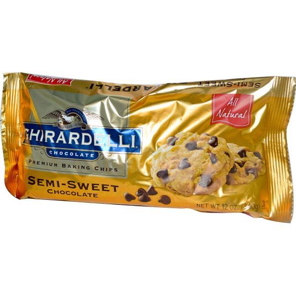 Ghirardelli, Premium Baking Chips, Semi-Sweet Chocolate, 12 oz (340 g)