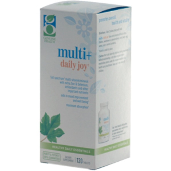 Genuine Health Corporation, Multi + Daily Joy, 120 Tablets (Discontinued Item)