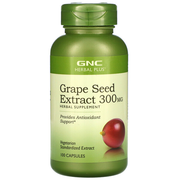 Grape Seed Extract, 300 mg, 100 Capsules