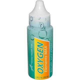 Global Health Trax, Oxygen Elements Max, 1 fl oz (30 ml)