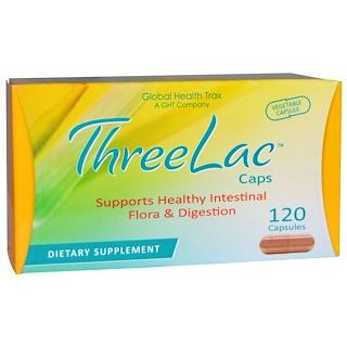 Global Health Trax, ThreeLac Caps, 120 Capsules