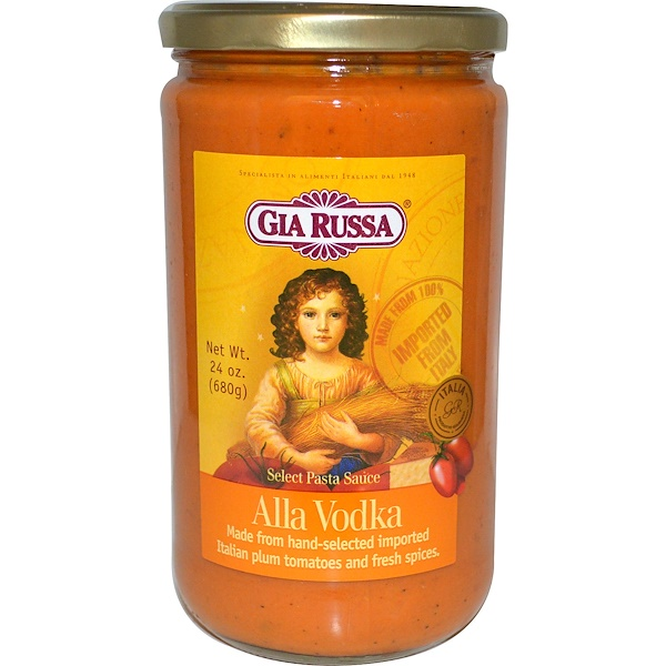 Gia Russa, Select Pasta Sauce, Alla Vodka, 24 oz (680 g) (Discontinued Item)