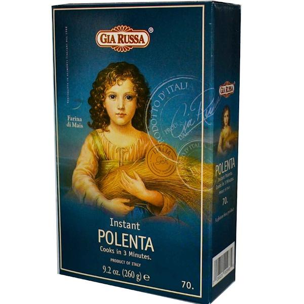 Gia Russa, Instant Polenta, 9.2 oz (260 g) (Discontinued Item)