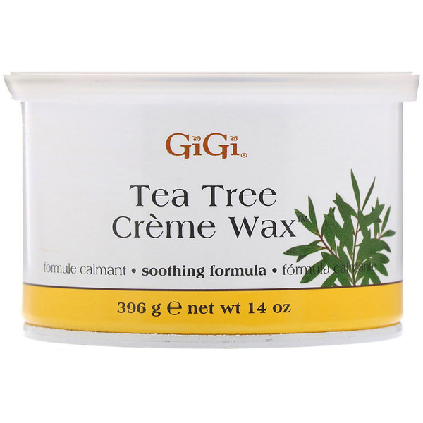 Gigi Spa, Tea Tree Creme Wax, 14 oz (396 g)