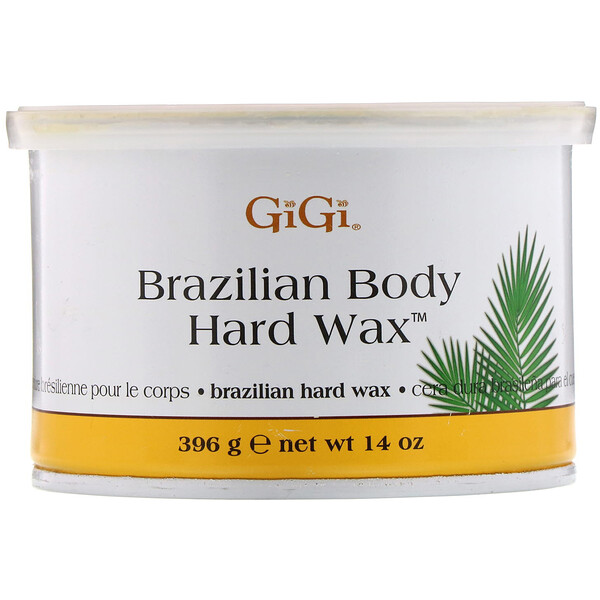 Gigi Spa, Brazilian Body Hard Wax, 14 oz (396 g)