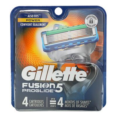 Купить Gillette Сменные кассеты для бритья Fusion5 Proglide, 4 кассеты