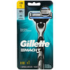 Gillette, Mach3 ماكينة، مُزودة بشفرة 1 + 2 من رؤوس الحلاقة