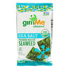 gimMe, Premium Roasted Seaweed, Sea Salt, .35 oz (10 g)