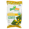 gimMe, Premium Roasted Seaweed, Toasted Sesame , .35 oz (10 g)