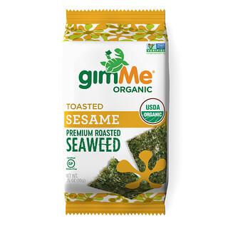gimMe, Premium Roasted Seaweed, Toasted Sesame , .35 oz (10 g)