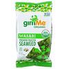 gimMe, Premium Roasted Seaweed, Wasabi, .35 oz (10 g)