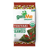 gimMe, Premium Roasted Seaweed, Teriyaki, .35 oz (10 g)
