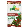 gimMe, 優質烤海藻,照燒,6 包,每包 0.17 盎司(5 克)