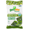 gimMe, Premium Roasted Seaweed, Extra Virgin Olive Oil, .35 oz (10 g)