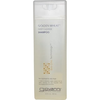 Giovanni, Golden Wheat Deep Cleanse Shampoo, 8.5 fl oz (250 ml)