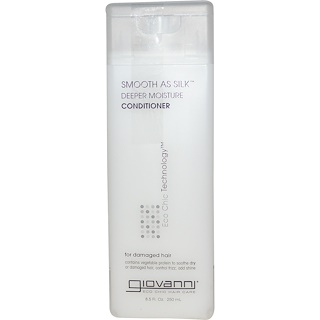 Giovanni, Smooth As Silk, Deeper Moisture Conditioner, 8.5 fl oz (250 ml)