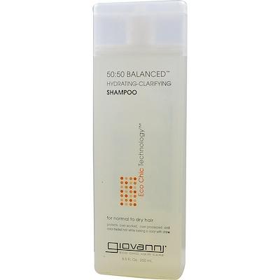 Купить Сбалансированный увлажняющий и очищающий шампунь в пропорции 50:50, 8, 5 жидких унций (250 мл)