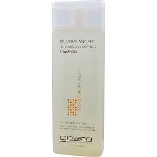 Giovanni, 50:50 Balanced Hydrating-Clarifying Shampoo, 8.5 fl oz (250 ml)