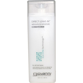 Giovanni, Direct Leave-In Weightless Moisture Conditioner, 8.5 fl oz (250 ml)