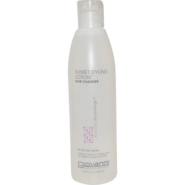 Giovanni, Sunset Styling Lotion, Hair Changer, 8.5 fl oz (250 ml) (Discontinued Item)