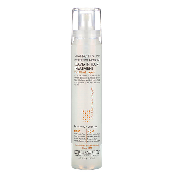 Giovanni, Vitapro Fusion, Protective Moisture, Leave-In Hair Treatment, 5.1 fl oz (150 ml)